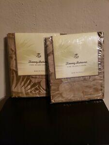 Tommy Bahama Jungle Fever Euro/Continental Sham 600 TC Cotton Sateen New Set 2