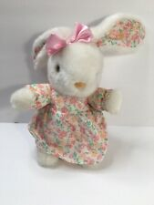 Easter Floral Plush Bunny