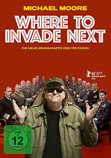 Where to Invade Next (Michael Moore) DVD NEU + OVP!