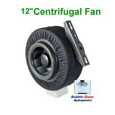 """CENTRIFUGAL FAN VENTILATION EXHAUST 12""""/300MM VENT DUCT EXTRACTOR METAL BLADE"""