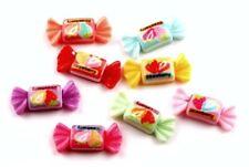 8PC Hard Candy Flatback Embellishments Hair Bow Scrapbks Cupcake Toppers