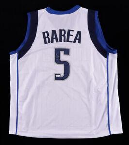 J.J. Barea Signed Dallas Mavericks Jersey (JSA COA) NBA Champion (2011)