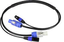 Blizzard Lighting DMXPC-3 /COMBO DMX COOL CABLE+POWERCON COMPATIBLE CABLE 3-FOOT