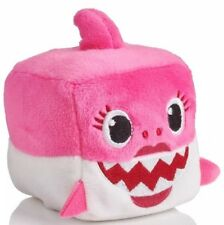WowWee Pink Mommy Baby Shark Cube Plush Pinkfong SINGING English US IN HAND