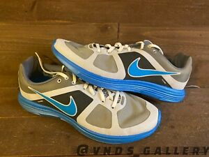 Nike Lunar Racer + 2 Neptune Blue Black 385755 001 Sz 13 New Mens