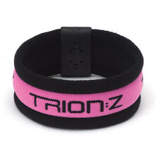 Trion Z Magnetic Ionic Therapy Broadband Sports Wristband Pink and Black Large