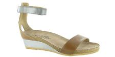 Naot Pixie Maple Latte Brown Mirror Wedge Sandal Women's sizes 5-11/36-42 NEW