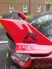 Honda Civic Type R custom graphic vinyl spoiler sticker Decal JDM VTEC