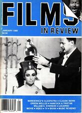 Films In Review January 1988 Cleopatra Orson Welles Claude Berri Princess Bride