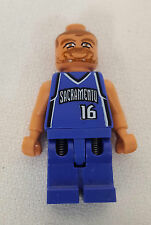 Lego SACRAMENTO KINGS Predrag PEJA Stojakovic #16 NBA Basketball Minifig Figure