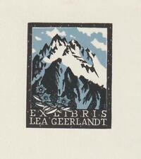 Ex libris Exlibris by SEVERIN MARK (1906 -1987) Belgium