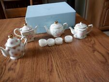 Partylite Romantic Chic Teapot Tealight Holders Candle Holder Comes 4 Tealights