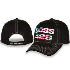 Ford Mustang Boss 429 Black Cotton Hat