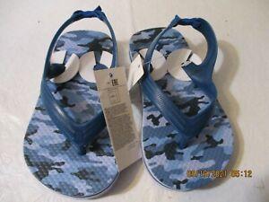 Boy Gap Camo Flip Flops/Sandals Size 7/8Toddler New