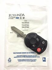 New OEM 4 Button replacement Uncut remote head key for Ford