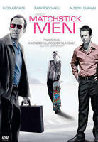 Matchstick Men (DVD, 2004, Widescreen) Nicolas Cage, Sam Rockwell - BRAND NEW