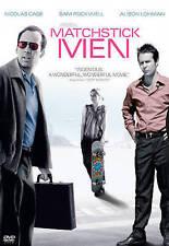 NEW DVD // Matchstick Men - RIDLEY SCOTT - Nicolas Cage, Sam Rockwell, Alison Lo