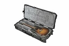 SKB Injection Molded Acoustic Guitar Case - TSA Latches, with wheels (3i-4217-18