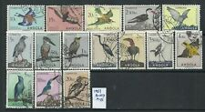Angola 1951 - Angola Birds x 15 stamps used