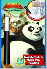 Magic Pen Painting Book by Lee Publications DREAMWORKS KUNG FU PANDA