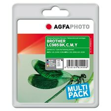 APB985SETD-LC985VALBP CARTUCCE RIGENERATE AGFAPHOTO PER BROTHER DCP-J315W