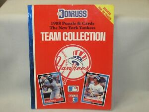 New Old Stock!! 1988 New York Yankees * Donruss Team Collection *