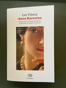 Lev Tolstoj ANNA KARENINA Einaudi ET Classici 2018 cop.morbida