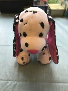 Polka Dot Puppy full size 7in Webkinz dog new with sealed unused code HM702