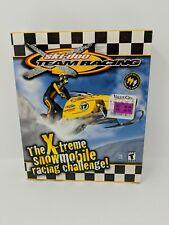 Ski-Doo X-Team Racing Snow Mobile PC Computer Game Big Box New Sealed 2001 VTG