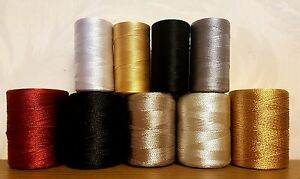 Silk Rayon Large small mix embroidery machine thread Spool all assorted colors