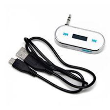 MUSIC FM TRANSMITTER FOR SAMSUNG GALAXY IPOD IPHONE 5 4 NOKIA HTC LG SONY