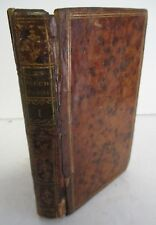 1787 LES FLECHES D'APOLLON, D' EPIGRAMMES, Tome Premier, Leather