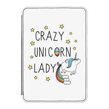 "Crazy Unicorn Lady Case Cover for Kindle 6"" E-reader - Funny"