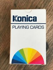 Vintage Konica Playing Cards Film Camera