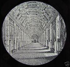 Glass Magic Lantern Slide THE GALLERY OF MAPS  C1890 THE VATICAN ROME ROMA