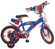 "14 Zoll 14"" Kinderfahrrad Kinder Disney Jungen Fahrrad Rad BMX Spiderman Bike"
