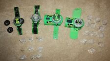 Lot of Ben 10 Ten Alien Omnitrix Watches RARE HTF