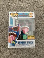 Funko Pop! Lilo & Stitch - SUMMER STITCH #636 (Scented) - Hot Topic Exclusive