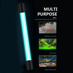 9W Aquarium Submersible UV Light Sterilizer Pond Fish Tank Germicidal Clean Lamp