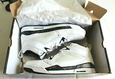 New Air Jordan Flight 9 Men's Basketball # 395553-107 White / Black US Size 13