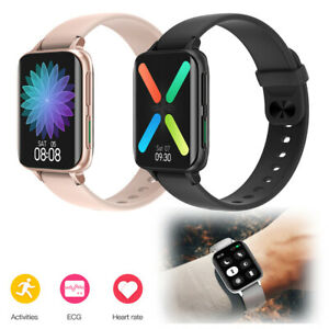 ECG Heart Rate Monitoring Smart Watch Bluetooth Smartwatch for iOS Android Phone