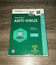 Sealed Kaspersky Anti-Virus Protection for 3 PCs - 1 Year