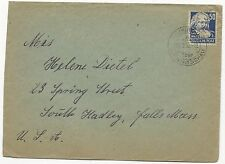 Germany Russian Zone GDR Scott #10N41 on Cover to USA February 11, 1952