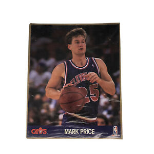 Mark Price Cleveland Cavs NBA 1990 NBA Hoops UNOPENED Action Photo