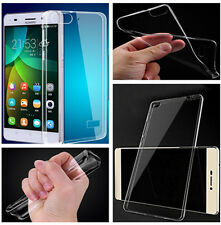 Clear Transparent Crystal Soft TPU Silicone Cover Case for Huawei Ascend Honor