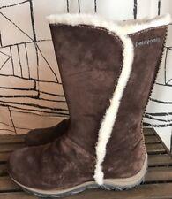 Patagonia Women's Lugano Espresso Brown Waterproof Primaloft Boots Size 10M US