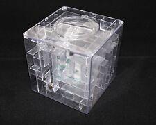 Geocaching 3D Kugel Labyrinth Final Cache Versteck Spardose IQ knifflige Box
