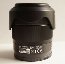 Sony E 18-55mm f/3.5-5.6 OSS SEL1855 Black Lens for Sony E Mount