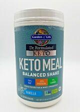 Dr. Formulated Keto Meal Balanced Shake, Garden of Life  672 gram Vanilla