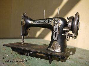 vintage Antique sewing machine minerva-bobbin